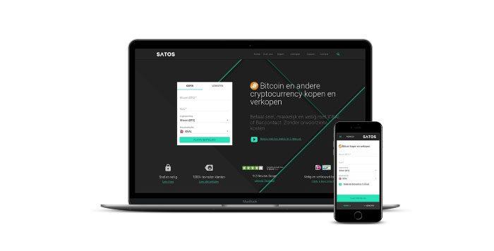 Bitcoin kopen op SATOS met iDeal