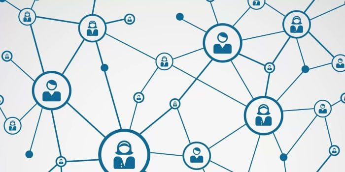 Blockchain social netwerk