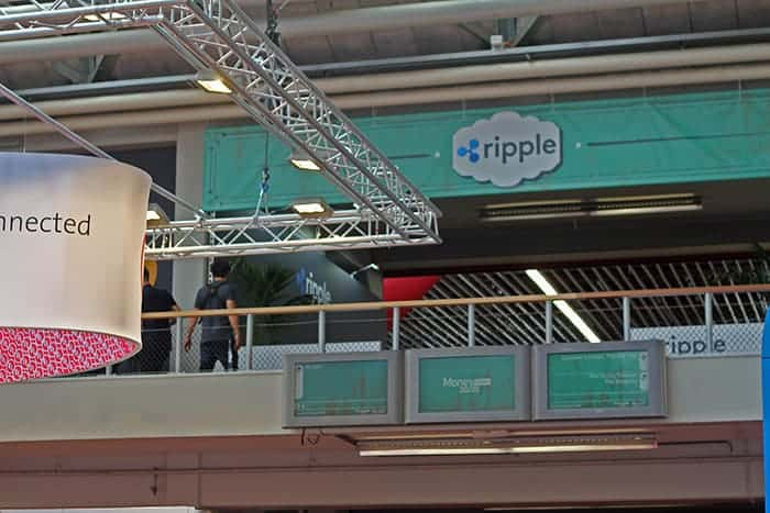 money2020 Ripple stand