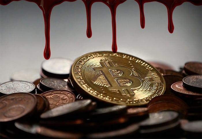 grote_verliezen_cryptomarkt_bitcoin_BTC_op_laagste_punt_in_3_maanden_tijd