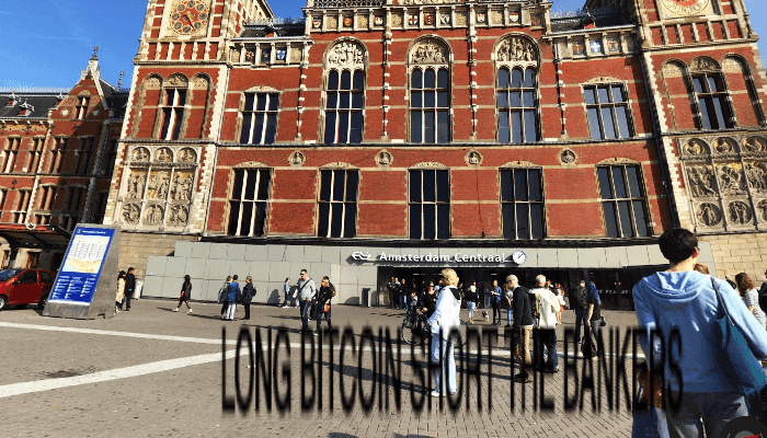 Overal digitale graffiti plaatsen met bitcoin, ook in Amsterdam