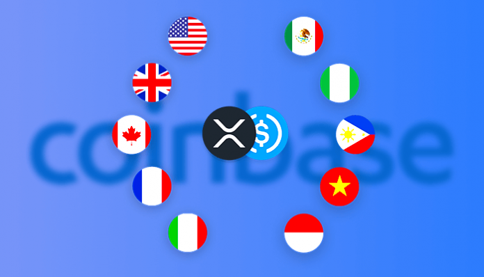 Coinbase biedt gratis internationale transacties aan met XRP en USDC