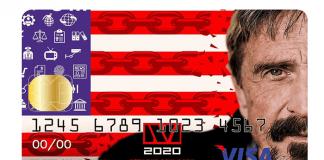 Gaat John McAfee binnenkort een bitcoin betaalpas uitbrengen?