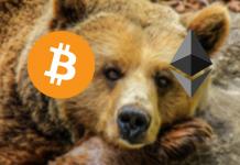 Bitcoin (BTC) en ethereum (ETH) zetten daling in, bears raken uitgeput