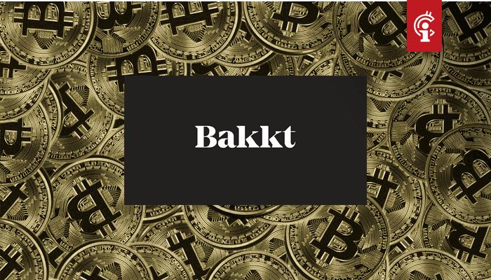 Vanaf volgende week bitcoin (BTC) storten op handelsplatform Bakkt