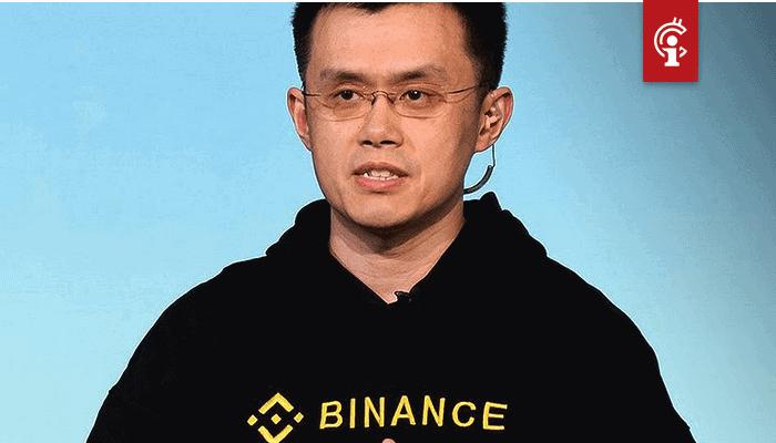 Bitcoin (BTC) prijs zal niet lang rond $9.000 blijven, aldus Binance CEO