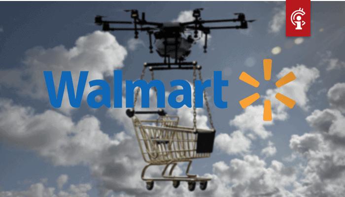 Walmart gaat blockchain gebruiken voor drone communicatiesysteem