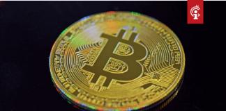 bitcoin_BTC_koers_test_dalende_trendlijn_uitbraak_mogelijk
