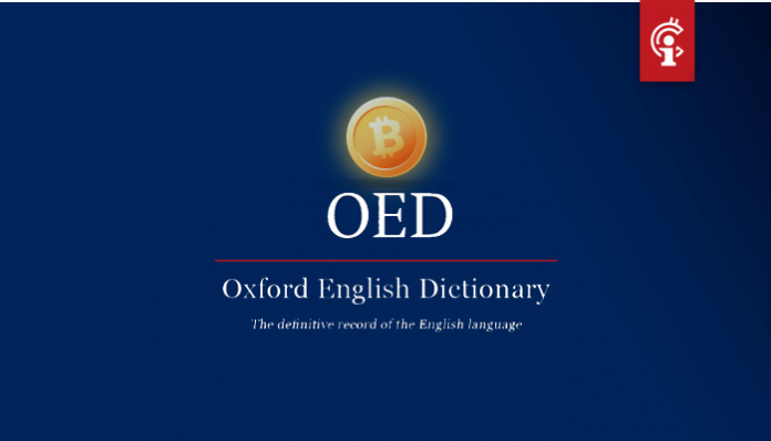 Oxford English Dictionary voegt