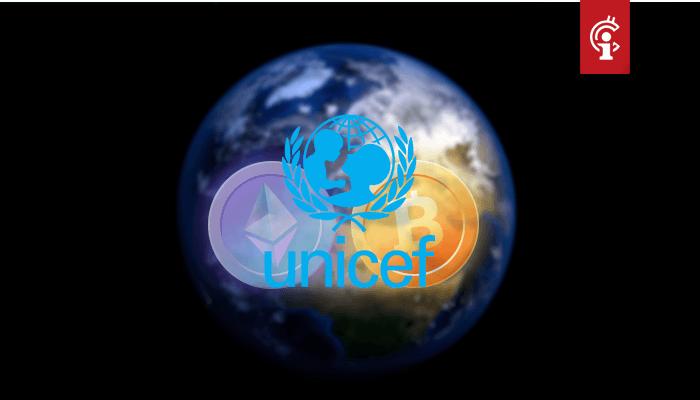 UNICEF lanceert cryptocurrency-fonds, accepteert bitcoin (BTC) en ether (ETH)