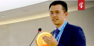 "Binance CEO Changpeng Zhao: Bitcoin (BTC) ""binnenkort"" naar $16.000"