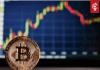 Bitcoin (BTC) koers stijgt flink na periode van weinig actie maar zakt alsnog terug