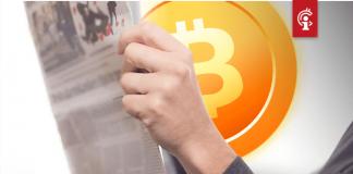 """Voorpagina Chinese staatskrant: """"Bitcoin (BTC) is eerste succesvolle applicatie van blockchain-technologie"""""""
