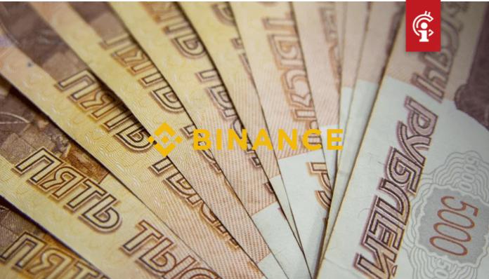 Binance voegt vier handelsparen toe voor de Rusissche roebel waaronder bitcoin (BTC), ether (ETH) en XRP (XRP)