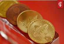 Bitcoin (BTC) koers leeft even op maar zakt opnieuw een stukje naar beneden, ethereum (ETH) de grootste daler