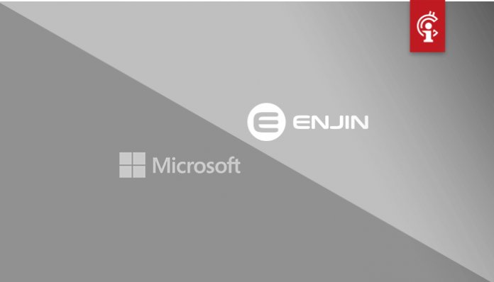 Microsoft werkt samen met blockchain-gaming bedrijf Enjin en lanceert