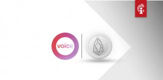 """Op EOS-gebaseerd social-mediaplatform """"Voice"""" lanceert bètaversie op Valentijnsdag"""