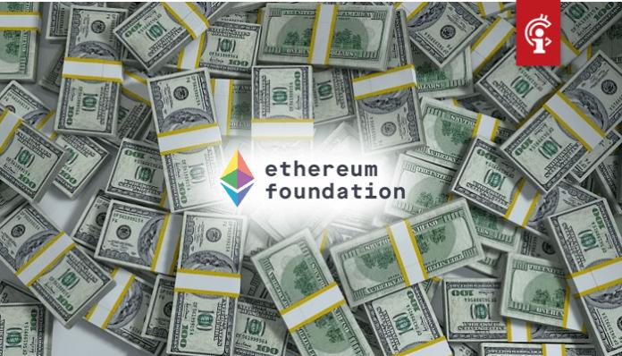 Vitalik Buterin overtuigde Ethereum Foundation om 70.000 ETH te verkopen voor $100 miljoen tijdens ATH