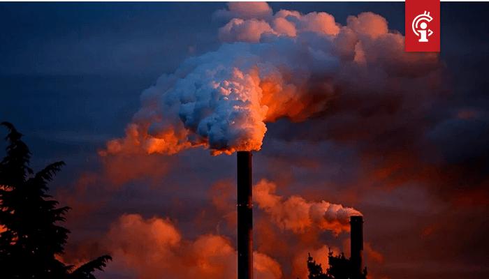 Blockchain om klimaatverandering te beheersen KMPG denkt van wel