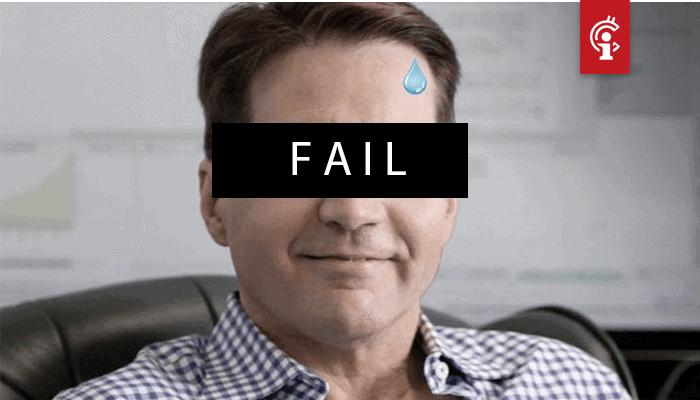 Craig Wright blijkt bitcoin (BTC) keys niet te hebben, bitcoin (BSV) maakt duikvlucht