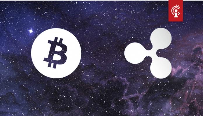 Bitcoin (BTC) toont lichte stijging, ripple (XRP) dik in de plus na goed nieuws