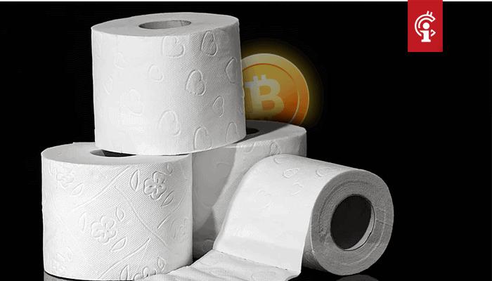 Bitcoin (BTC) zakt weer onder support, Toilet Paper Token (TPT) meer dan 1.000 procent in de plus!
