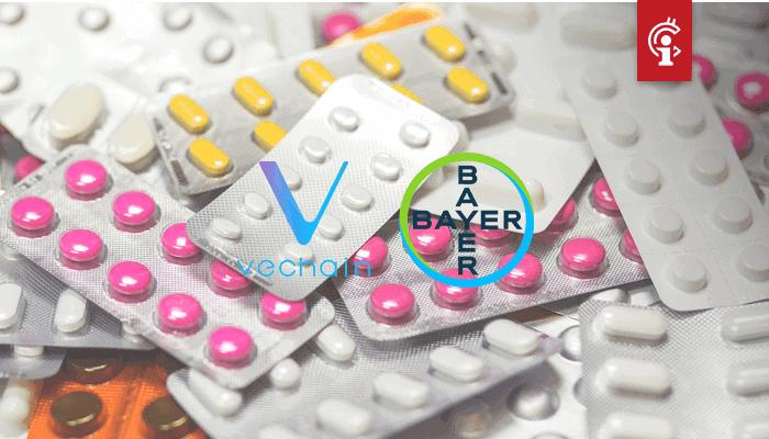 VeChain (VET) gaat samenwerking aan met farmaceutisch gigant Bayer