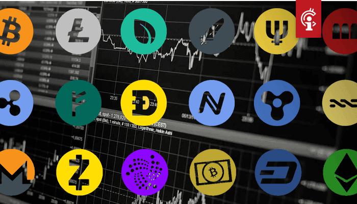 'Bitcoin cash (BCH), ripple (XRP), litecoin (LTC) en EOS (EOS) horen NIET thuis in de top 10'