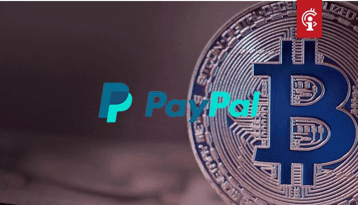 PayPal gaat wellicht bitcoin (BTC) en andere cryptocurrencies direct aan zijn 325 miljoen klanten aanbieden