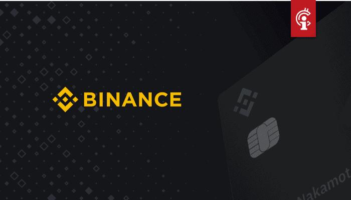 Bitcoin exchange Binance gaat samenwerken met Swipe voor een cryptocurrency VISA betaalkaart