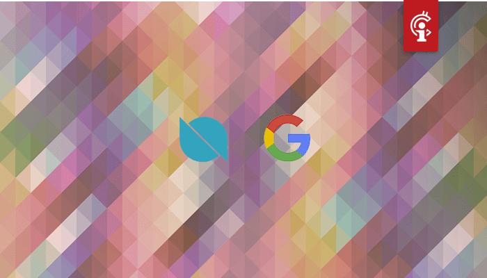Ontology (ONT) nu officieel Google Cloud Partner