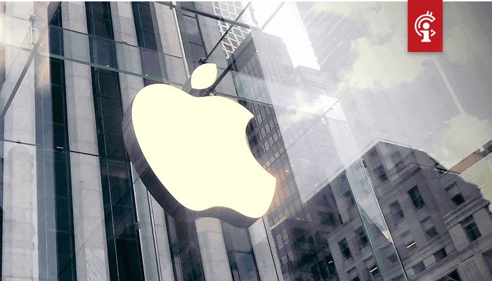 Apple houdt innovatie tegen door vijandig tegenover bitcoin en crypto te zijn, zegt Coinbase CEO