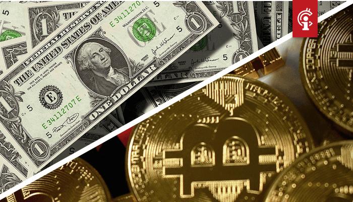 Bitcoin (BTC) koers corrigeerde onlangs omlaag, werd dit veroorzaakt door een rebound van de dollar?