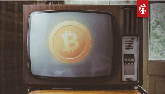 Bitcoin (BTC) koers voor miljoenen kijkers te zien op CNBC tijdens Fed toespraak