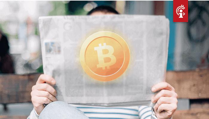 'Bitcoin (BTC) zal je nooit laten vallen,' valt te lezen op paginagrote advertentie in Hongkongse krant