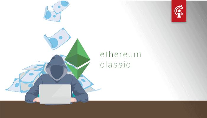 Ethereum Classic (ETC) wederom het doelwit van 51% aanval
