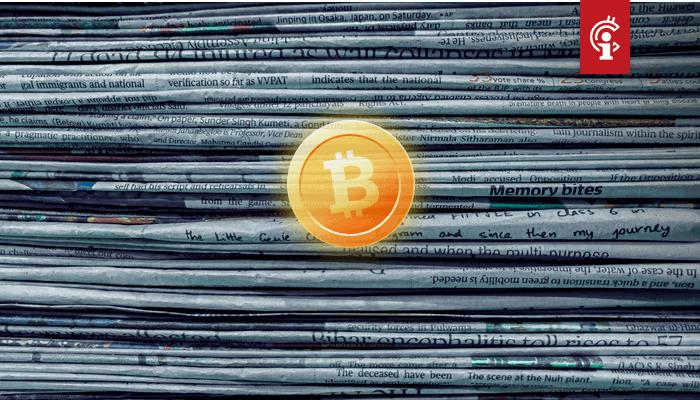 Bitcoin (BTC) belandt in de kasreserve van miljardenbedrijf, en ander groot nieuws van deze week