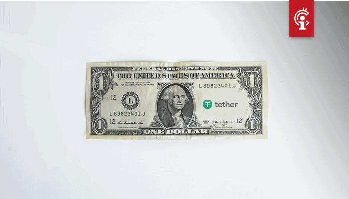 Tether (USDT) zakt voor het eerst onder 80% van totale aanbod stablecoins