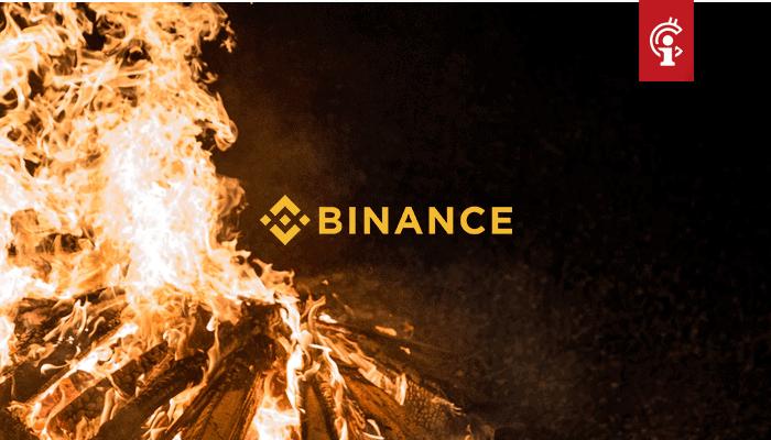 Bitcoin (BTC) exchange Binance houdt grootste coin burn ooit, hoe reageerde koers?