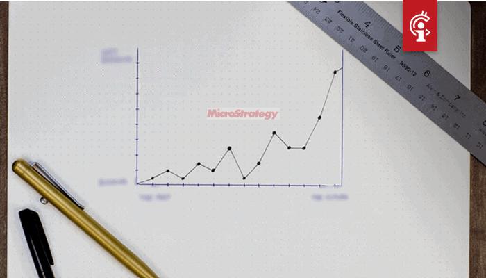 Bitcoin (BTC) investering van MicroStrategy zorgt voor enorme winst bij het bedrijf blijkt uit kwartaalcijfers