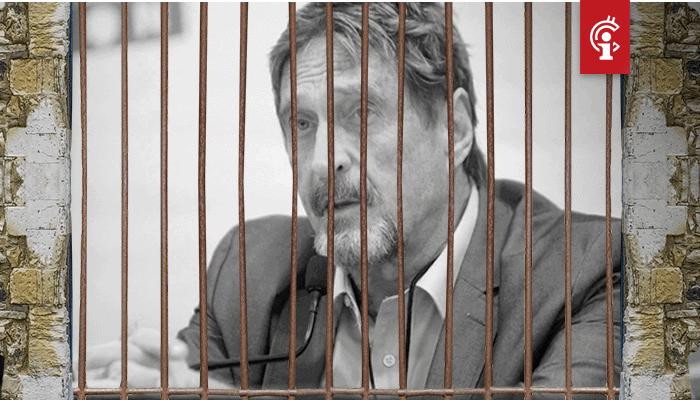 John McAfee opgepakt in Spanje en moet mogelijk tientallen jaren de bak in