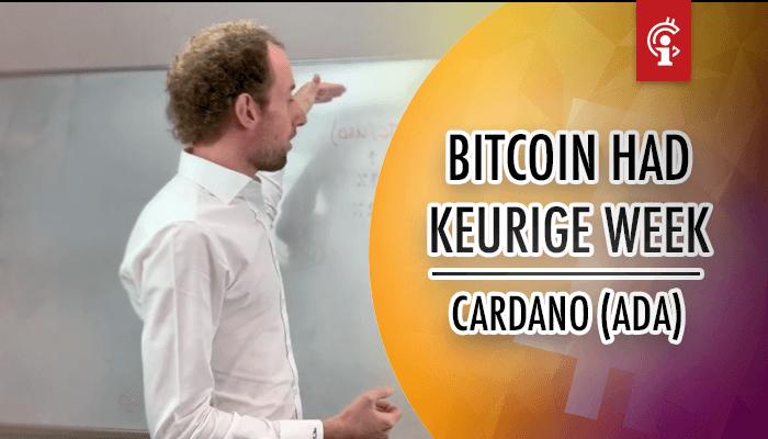 Bitcoin (BTC) koersvideo van Michiel: Bitcoin had een keurige week!
