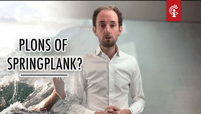 Bitcoin (BTC) koersvideo van Michiel: Plons of springplank!