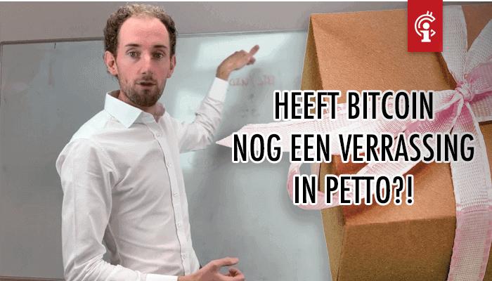Bitcoin (BTC) koersvideo van Michiel: Verrassing in petto?
