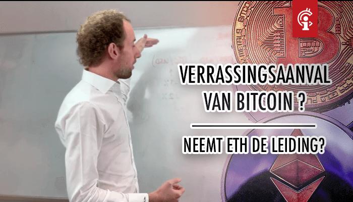 Bitcoin (BTC) koersvideo van Michiel: Verrassingsaanval op komst? Neemt Ethereum de leiding?