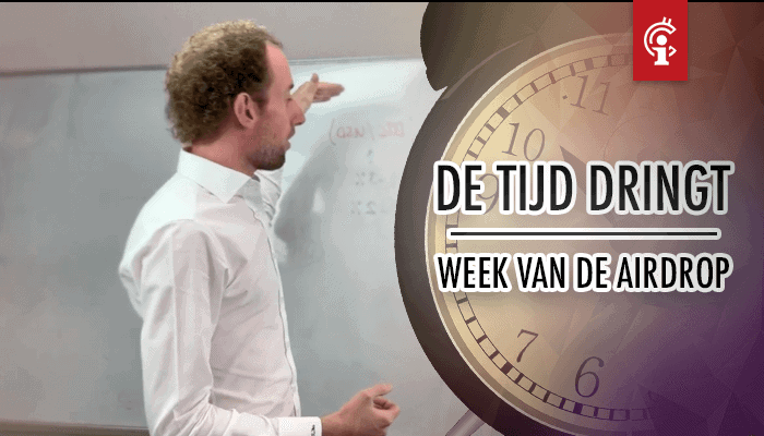 Bitcoin koersvideo van Michiel: De tijd dringt voor BTC, de week voor de airdrop!